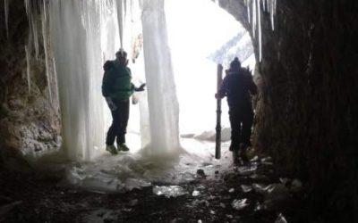 Les cascades de glace